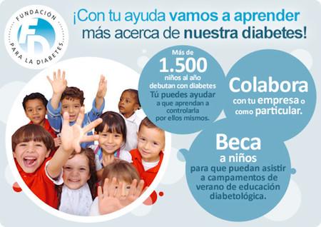 Este año los particulares y empresas podrán contribuir con las Becas Diabcamp para la educación diabetológica en niños
