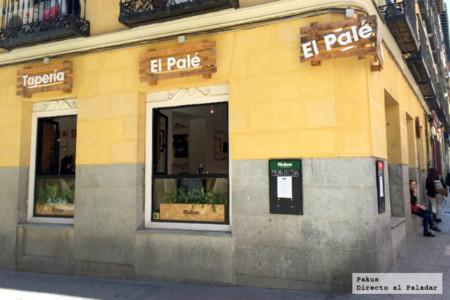 Restaurante tapería El Palé en Madrid