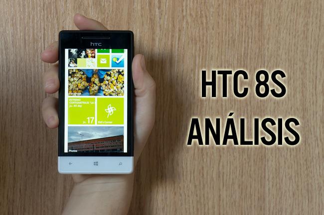 HTC 8S - análisis