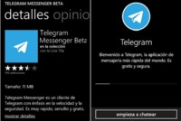 Telegram llega oficialmente a Windows Phone aprovechando la ausencia temporal de WhatsApp