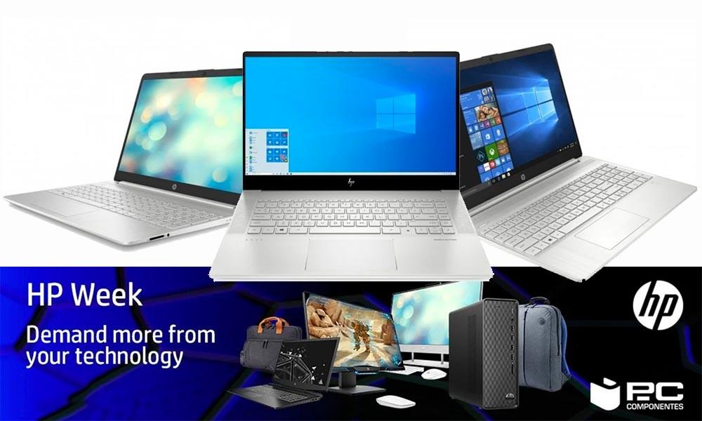 HP Week en PcComponentes: ofertas en portátiles de trabajo con descuentos de hasta el 12%