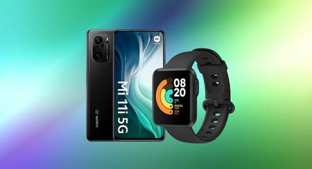 Llévate el Xiaomi Mi 11i 5G de 256GB por menos de 600 euros en El Corte Inglés y el smartwatch Mi Watch Lite de regalo