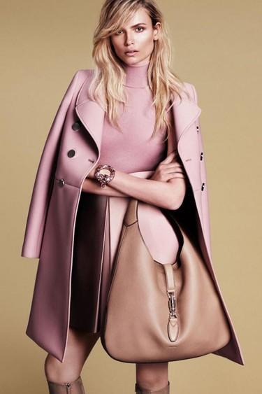 ¡Las tops se dan cita en la campaña Otoño-Invierno 2014/2015 de Gucci!
