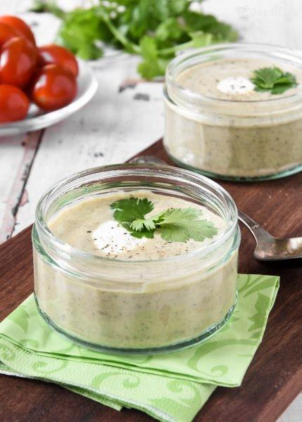 Crema Fria De Lentejas Y Yogur