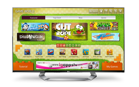 LG Game World, el centro de juegos para tu Smart TV