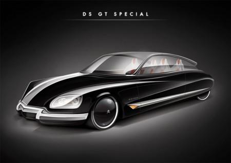 ¿Verdad que te gustaría que existiese un Citroën DS como este?