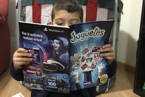 Así aparecen los juguetes científicos en los catálogos navideños de las grandes superficies y jugueterías