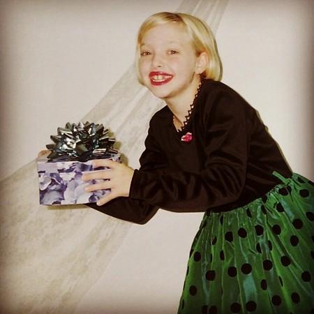 Para felicitaciones <em>vintage</em>, sin duda las de Amanda Seyfried