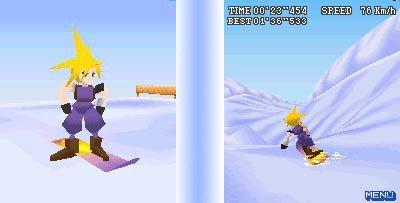Final Fantasy VII Snowboarding