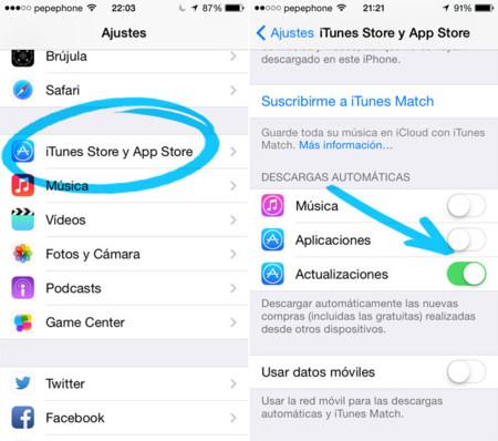 iOS desde cero: Actualizaciones automáticas