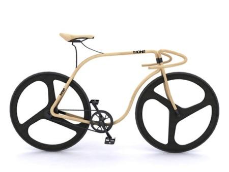 La silla Thonet va en bici
