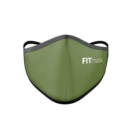 Fitmask Army Green Adulto