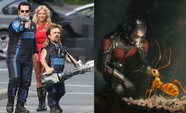 Pixels y Ant-Man
