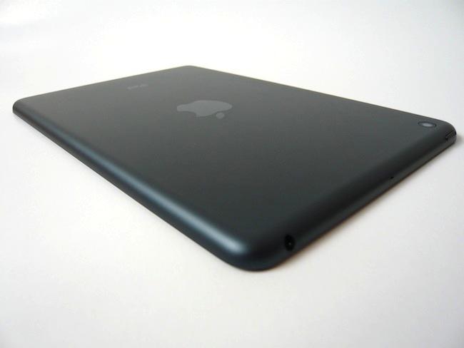 Análisis iPad mini bordes redondeados