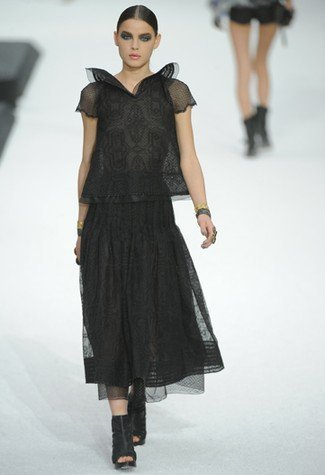Chanel Primavera-Verano 2011 transparencias