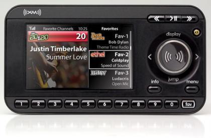 XM XpressRC, radio por satélite con pantalla a todo color