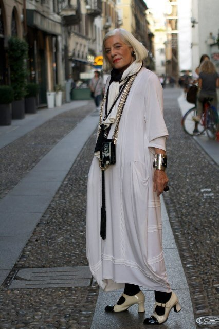Advanced style: elegancia madura