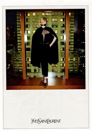 Raquel, Yves Saint Laurent y el mundo a sus pies
