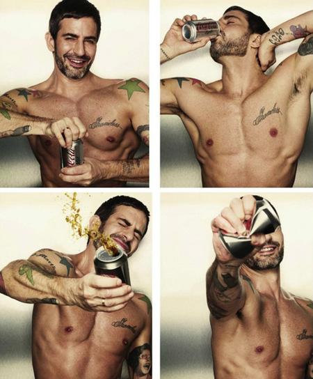 Marc Jacobs, el nuevo Lucky Vanous de la Coca-Cola Light