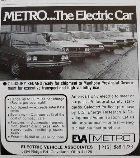 Renault 12 eléctrico publicidad