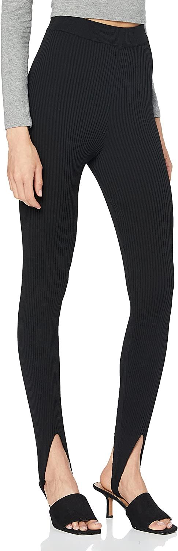 NA-KD Open Heel Knitted Leggings Mujer