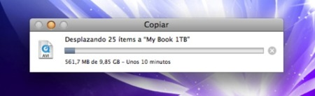 Cómo mover archivos en Mac OS X correctamente