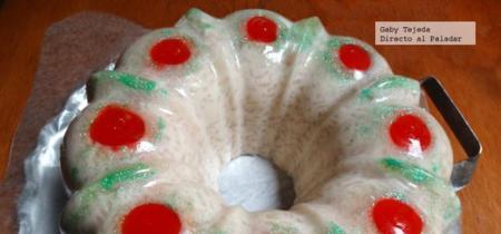 Receta de Corona de arroz con hojuelas de coco