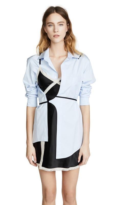 Clonados y pillados: los vestidos híbridos de Alexander Wang se encuentran en la nueva colección de Zara