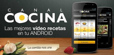 Canal Cocina ya disponible en Google Play