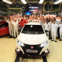Sale el primer Honda Civic Type R 2016 de la línea de producción