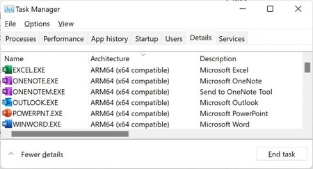 Nuevo Microsoft Office Arm 64 Bits Windows 11