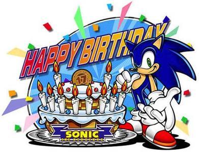 Sonic cumple 17 años