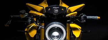 Sin retrovisores, con dos cámaras y tres pantallas: así es la Bolid-E, la moto eléctrica de Energica y Samsung