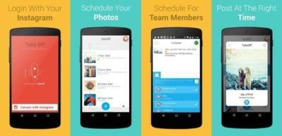 Programa tus publicaciones de Instagram en Android con TakeOff