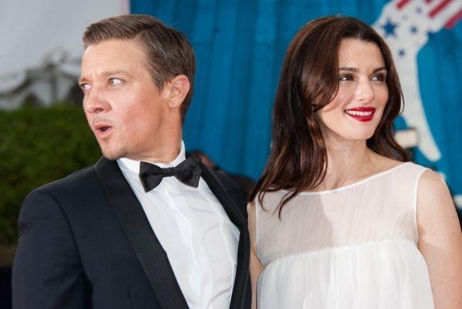 Jeremy Renner y Rachel Weisz en el preestreno de El Legado de Bourne