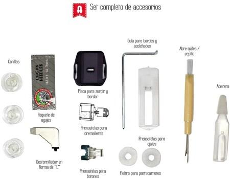 Accesorios Alfa