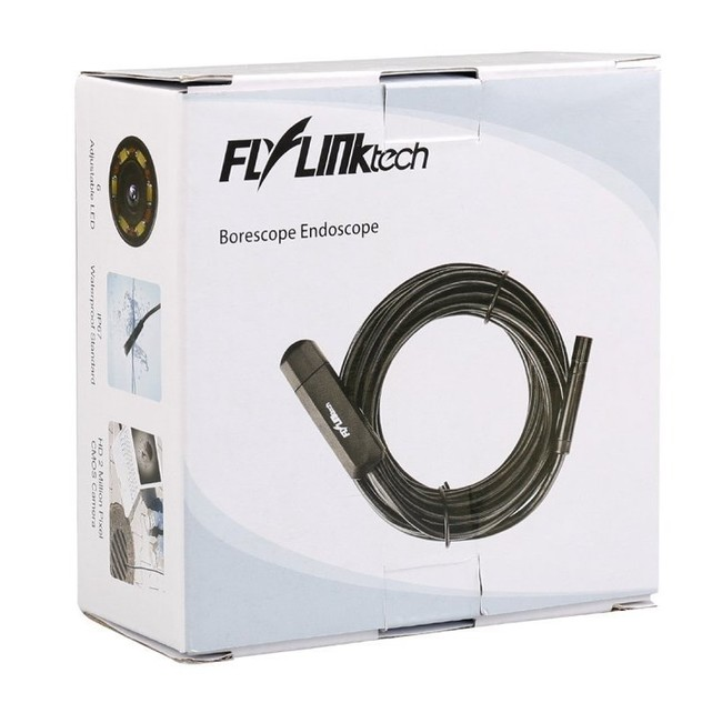 Flylinktech Endoscopio USB