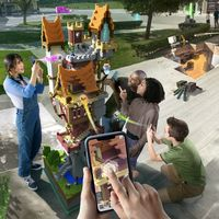 Minecraft Earth, un nuevo juego que aprovecha la realidad aumentada del iPhone para traer Minecraft al mundo real