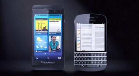 Estos serían los primeros teléfonos con BlackBerry 10