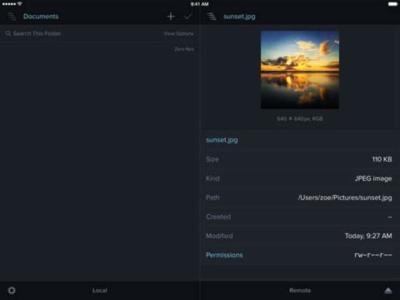 El conocido cliente FTP Transmit se lanza para iOS