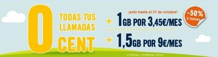 Happy Móvil promociona su tarifa Habla y Navega 1 GB con tres meses a mitad de precio