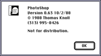 Evolución de Adobe Photoshop