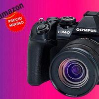 Más de 500 euros de descuento para la Olympus OMD E-M1 Mark II con objetivo 12-45: Amazon la tiene por unos superrebajados 1.159 euros