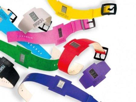 Patch, relojes de papel biodegradables