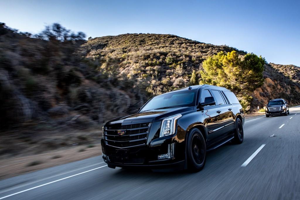 Blindado y a todo lujo: el Cadillac Escalade de AddArmor ofrece hasta eyectores de gas pimienta