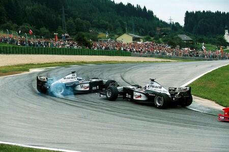 Coulthard Hakkinen Austria F1 1999