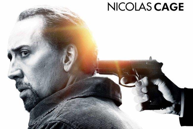 Nicolas Cage en el póster español de El Pacto