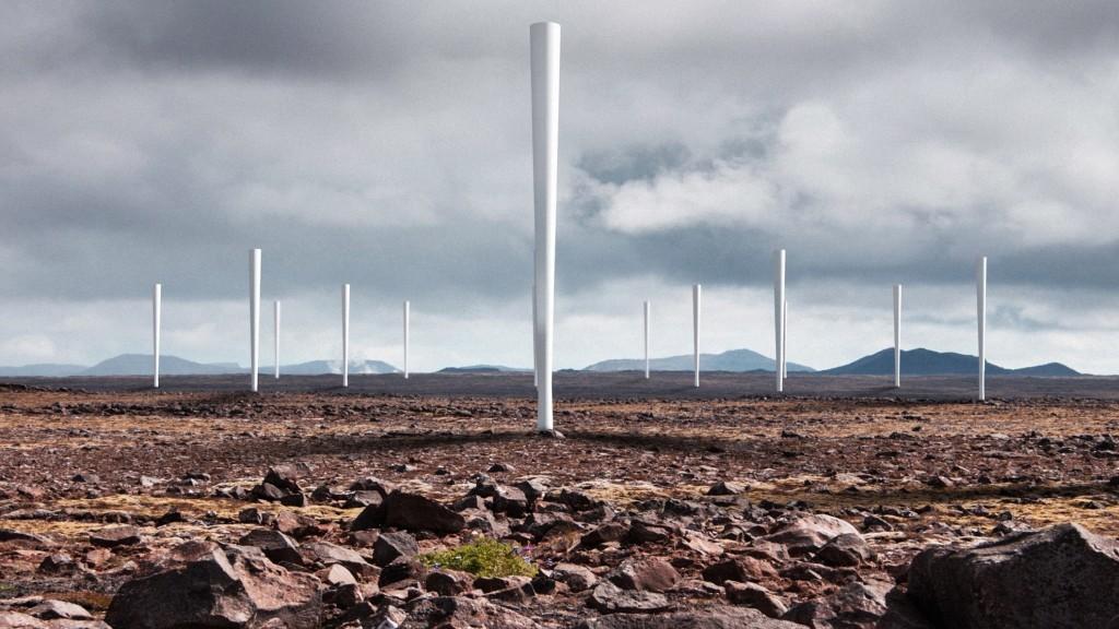 A estas turbinas eólicas les falta algo. O quizás no
