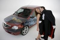 Autobizarrismo: el Dacia Logan de Drácula
