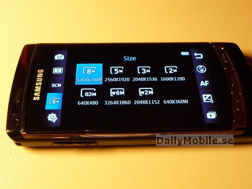Foto de Samsung Acme i8910 (2/8)